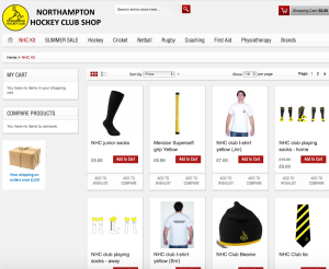 NHC club shop